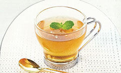 リラックスのひととき 紅茶ゼリー